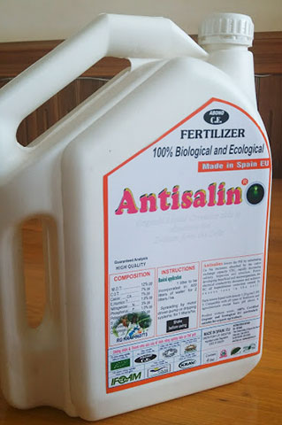 Antisalino chế phẩm 100% sinh học